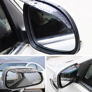 Car Side Mirrors Anti-Rain And Snow Eyebrow - GoinsShop