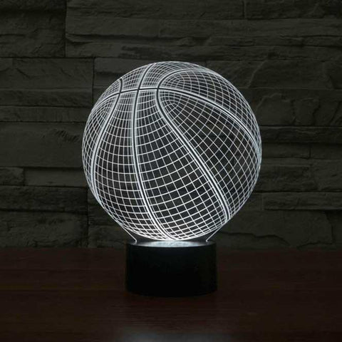 Basketball 3D Illusion Lamp - GoinsShop