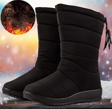 Load image into Gallery viewer, High Womens Waterproof Winter Boots - GoinsShop