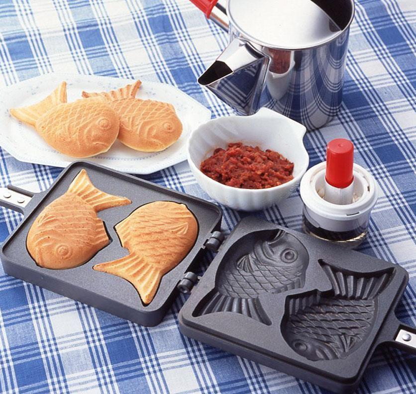 Taiyaki Fish Shaped Japanese Pancake Maker - GoinsShop