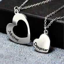 Load image into Gallery viewer, Matching Heart Mother Daughter Necklace Set - GoinsShop