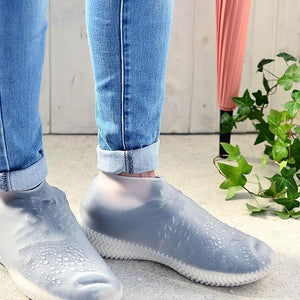 Waterproof Reusable Silicone Shoe Covers - GoinsShop