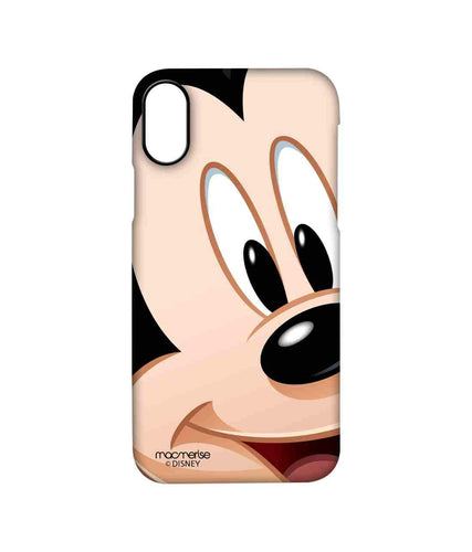 Zoom Up Mickey - Pro Case for iPhone X - GoinsShop