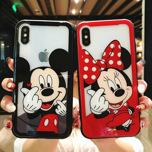 Cartoon Non Breakable Tempered Glass Case For iPhone - GoinsShop