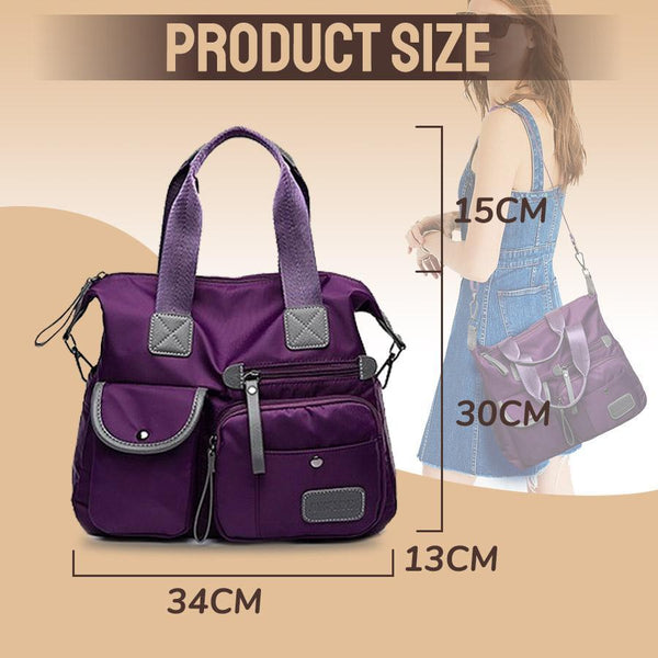 Waterproof Multi-Pockets Women's Bag - GoinsShop