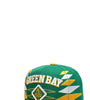 Кепка - Green Bay 3D Embroidery Snapback Hat