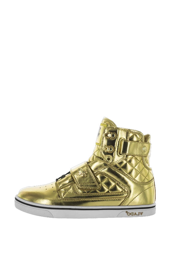 Кроссовки High-tops Atlas metallic Gold/White
