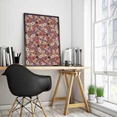 Explore our Mid Century Circles framed poster art collection