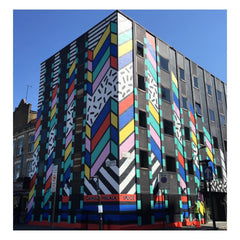 Camille Walala Memphis-inspired building in Shoreditch