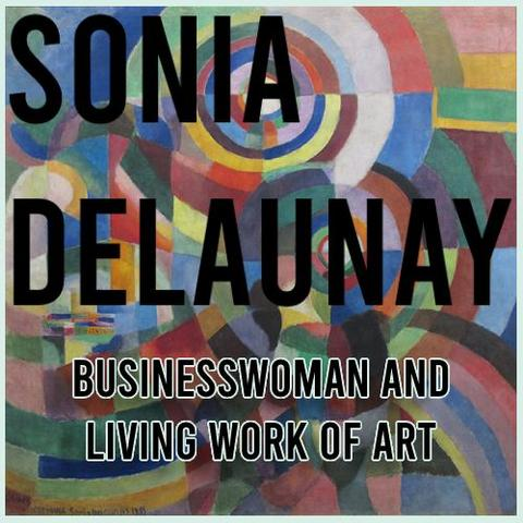 Sonia Delaunay inspired products