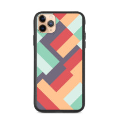 Explore our Mid-Century Modern style biodegradable phone cases