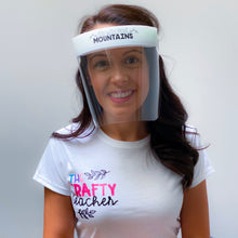 Load image into Gallery viewer, Teacher Inspired Face Shield Edition 1 - Regular Size - Splash Shield - 5 pcs.
