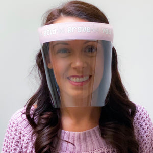 Teacher Inspired Face Shield Edition 1 & 2 Bundle - Regular Size - Splash Shield - 10 pcs.