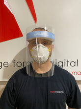 Load image into Gallery viewer, Face Shield - Extended ICU Size - Splash Shield - 50 pcs.
