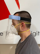 Load image into Gallery viewer, Face Shield - Mid Size - Splash Shield - 10 pcs.