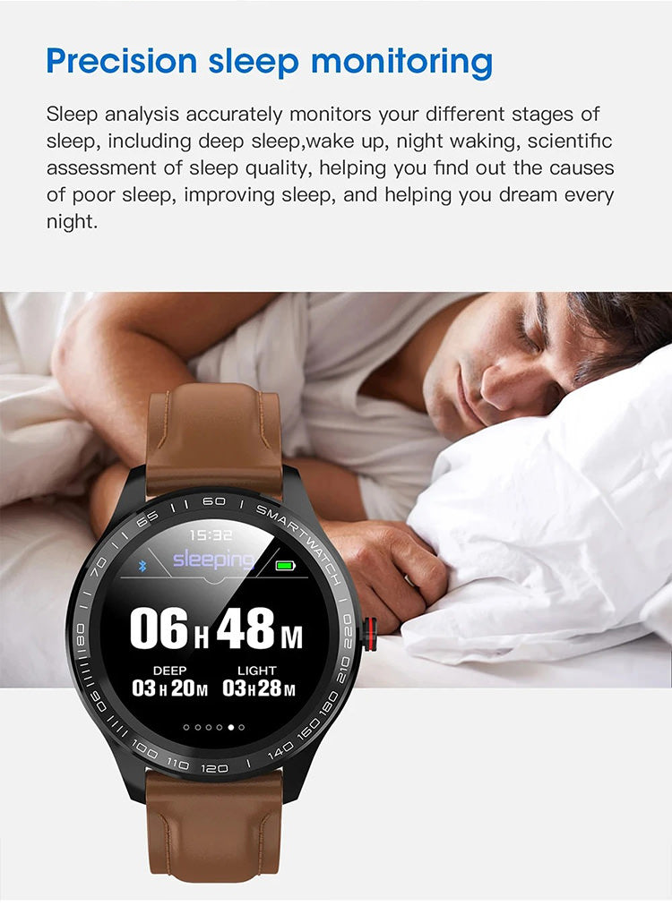 smartwatch with sleep monitoring