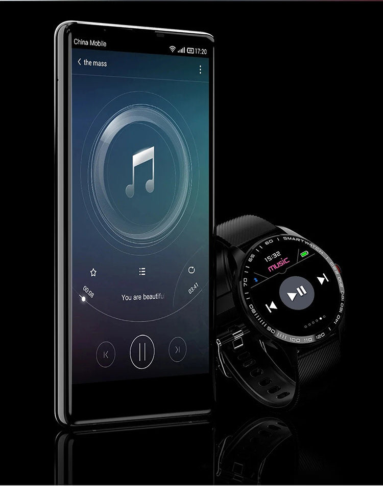smart watch w/ music control supporting
