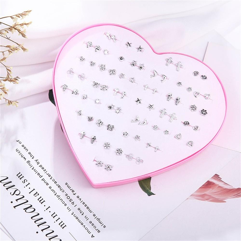 Fashion Ladies Jewelry Earring Set 36 Pairs/set - Asia-Peak
