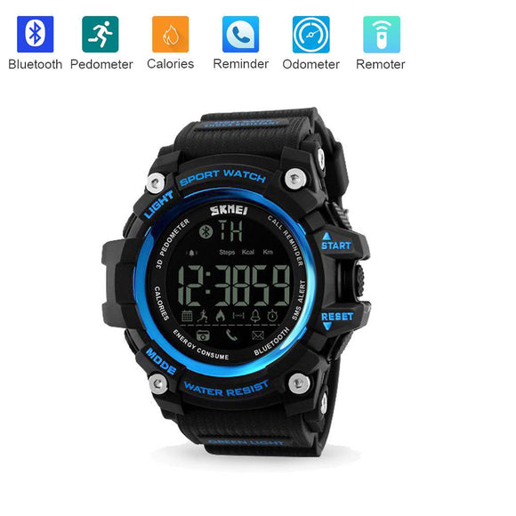 SKMEI 1227 Smart Watch w/ Bluetooth Support & 50m Waterproof