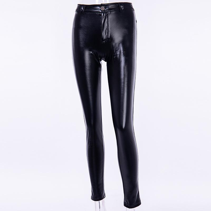 Punk PU Winter Thicken Pants - Asia-Peak