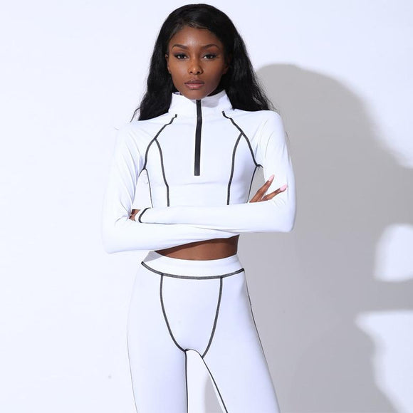 Two Piece Set Gym Wear Sportsuits