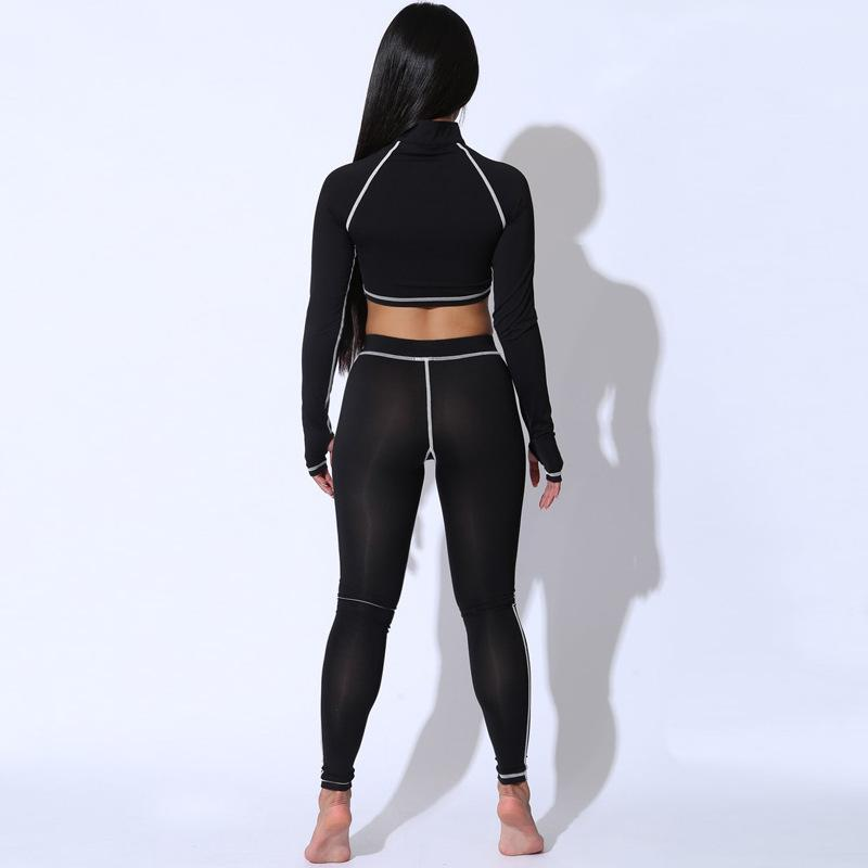 Two Piece Set Gym Wear Sportsuits - Asia-Peak