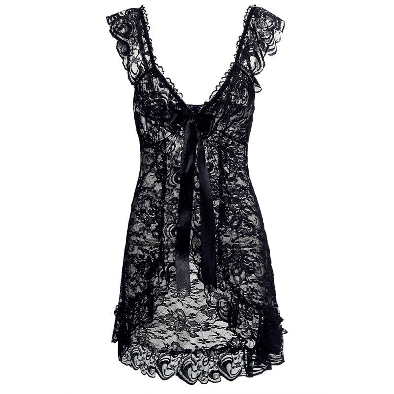 2020 New Sexy Lingerie Dress Women Sexy G-String Costumes Lace Sleepwear