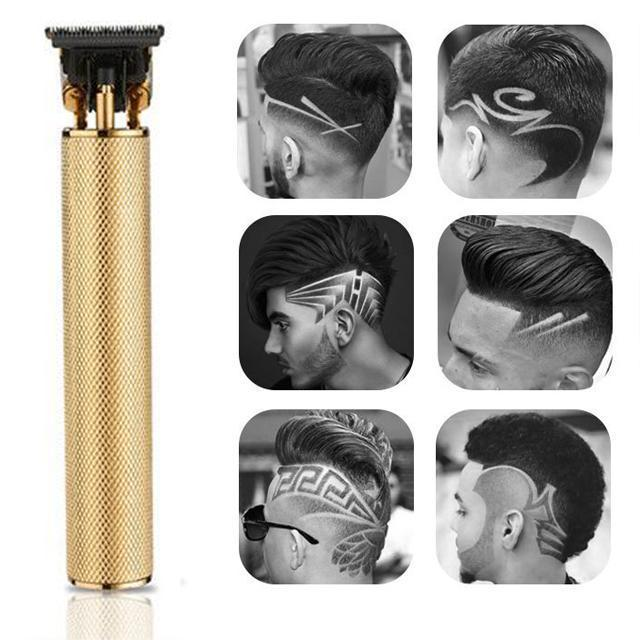 New Cordless Zero Gapped Trimmer Hair Clipper - Men's Gift - Asia-Peak