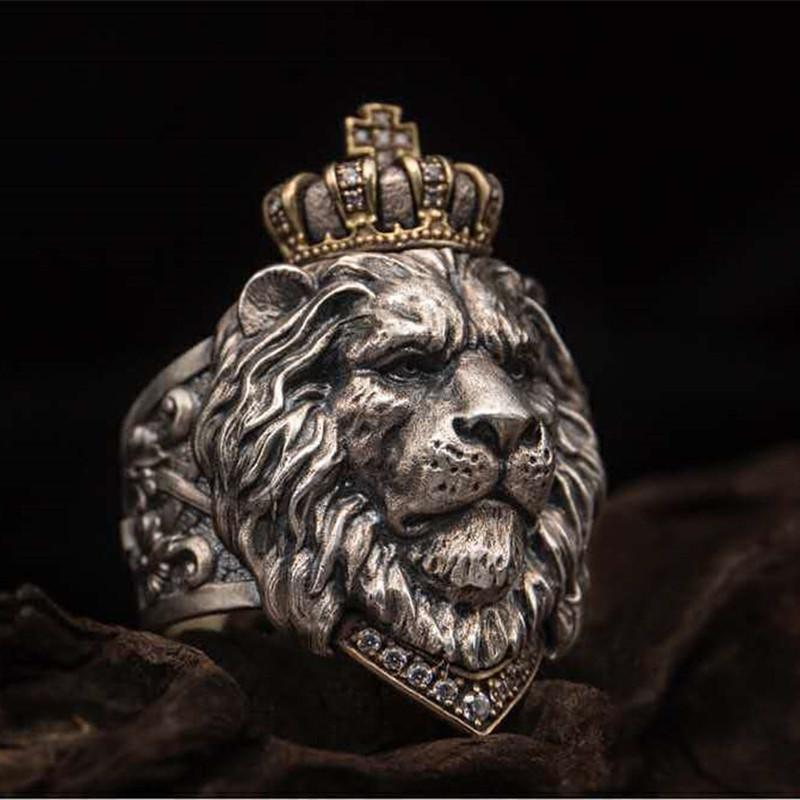 Unisex Lion King Simba Crown Ring - Asia-Peak
