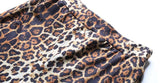 Leopard Stretchy Flared Pants - Asia-Peak
