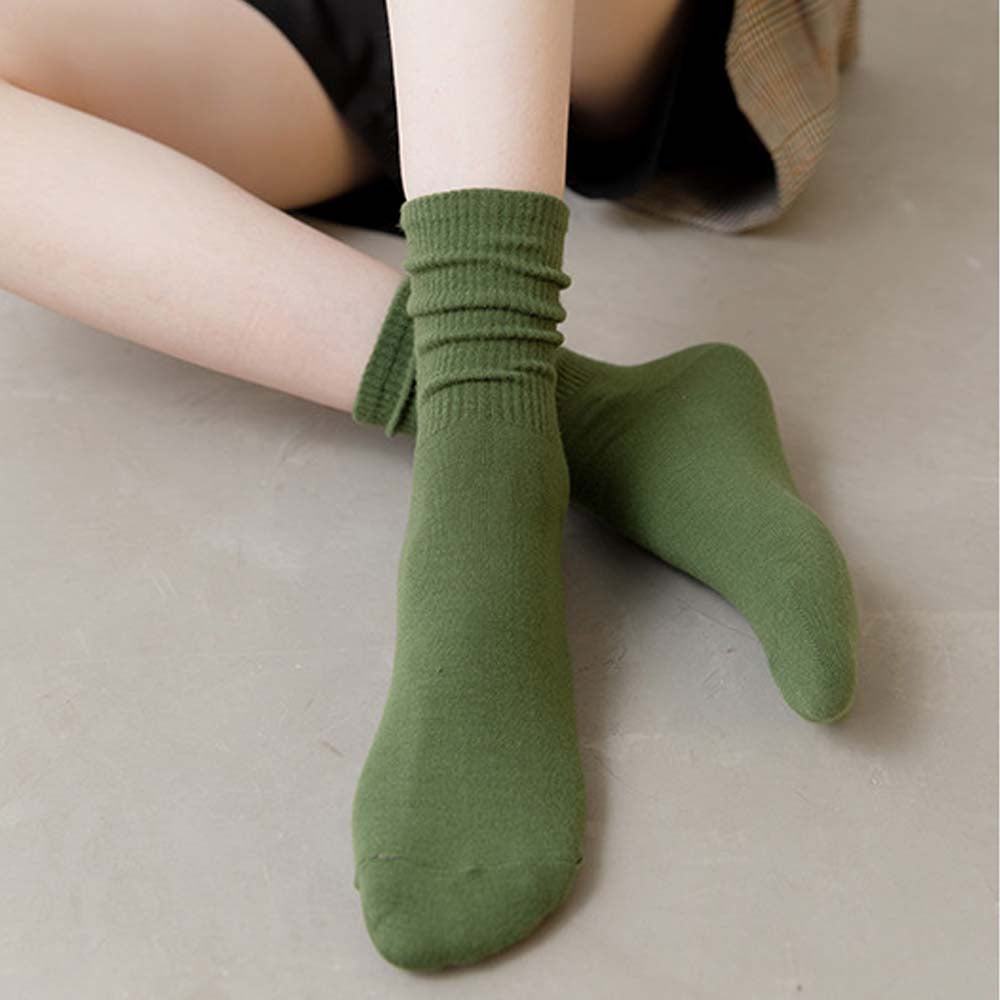 Pile Up Socks Tube Socks for Women Lady Autumn Winter