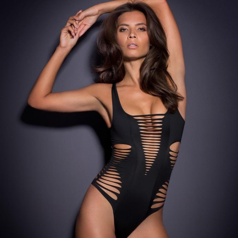 2020 Fashion Cutout One-piece Swimsuit