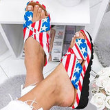 Summer 2020 New Women's European American Low Heel Flat Heel Toe Sandals Women's Beach Travel Oversized Shoes flip flops