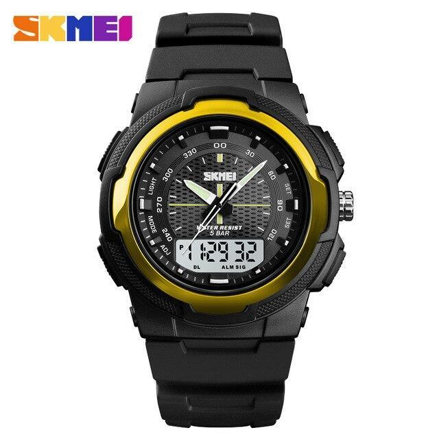 SKMEI 1454 Outdoor Sports Watch for Men w/ Stopwatch