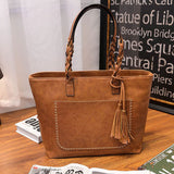 2020 Spring New Fashion Clutch Tassel Casual Phone Large Shoulder Bag Luxury Design Multifunctional Female bag Handbag