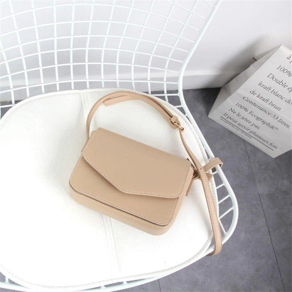 2020 Messenger Bags Women Versatile Pure Color Crossbody Shoulder Bag Solid Color Bag Ladies Fashion Travel Handbags