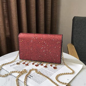 Luxury Handbags 2020 Women New Shoudlder Bags Sequin Pendant Female Fashion Bag Mobile Phone Crossbody Messenger Bag