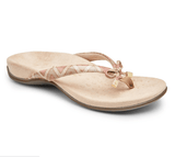 Women Leather Thong Bow-knot Sandals (10 colors available)