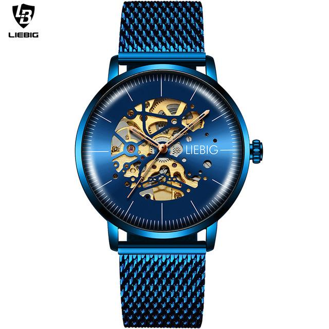 LIEBIG L3001 Creative Hollow Clock Automatic Watch for Men - FantaStreet
