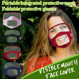 Face Mask with Clear Window Visible Expression - Asia-Peak