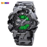 SKMEI 1688 Quartz Digital Male Wristwatch w/ Calendar & LED Display