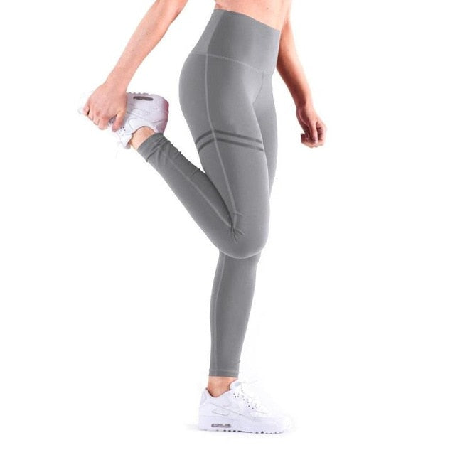 fitness Leggings Women Clothing Sexy High Waist Gym Leggings Sport Rave Slim fit Leggings Push Up Solid Color Hip Leggings pants
