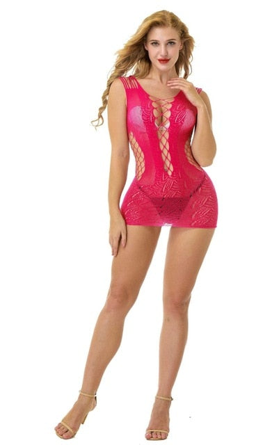 Sexy Lingerie Fishnet Bodystocking Bodysuit Sexy Dress Underwear