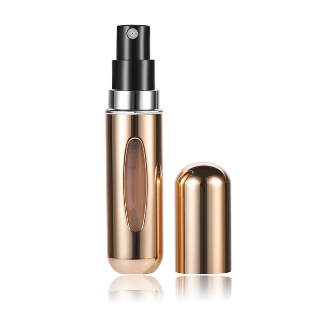 5ml Mini can be filled Portable Travel Convenient air Atomizer Perfume bottle Spray Bottle Cosmetic Container For Traveler