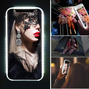 NEU!!! 3D-LED Case Selfie Case - Excklusive ID