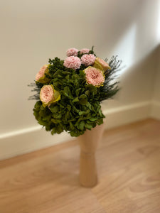 Ramo de novia bouquet green