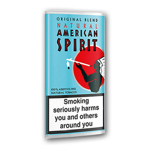 American Spirit Tobacco Pouch - Light Blue