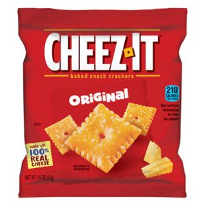 Cheez-It Crackers Single-Serving Snack Pack