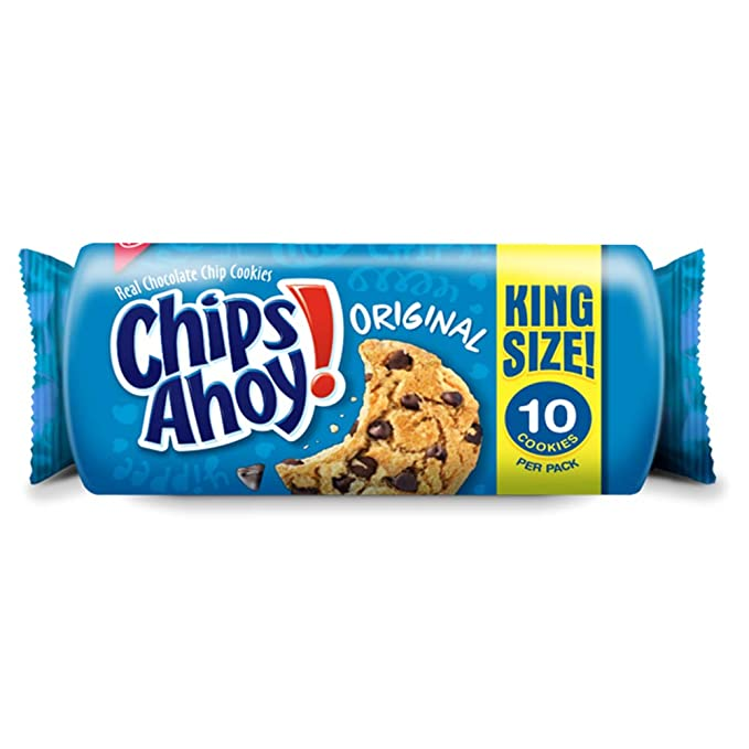Chips Ahoy Chocolate Chip Cookies - King Size 10ct