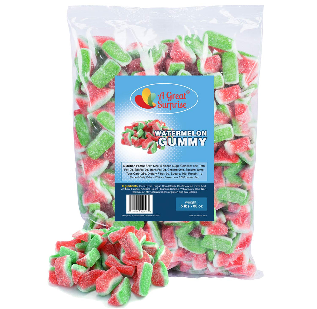 Gummiroos Sour Watermelon Bag - 2.2lbs